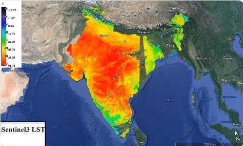 Miền trung Ấn Độ chịu ảnh hưởng nặng nề nhất từ nắng nóng. Ảnh: IFL Science.