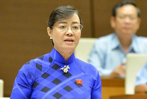 Đại biểu Nguyễn Thị Quyết Tâm. Ảnh: Trung tâm báo chí Quốc hội