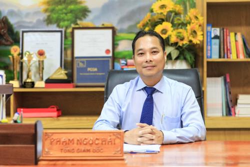 Ông Phạm Ngọc Hải, Chủ tịch Hiệp hội Du lịch Bà Rịa - Vũng Tàu, Tổng Giám đốc công ty Cổ phần Đầu tư Nam Á.