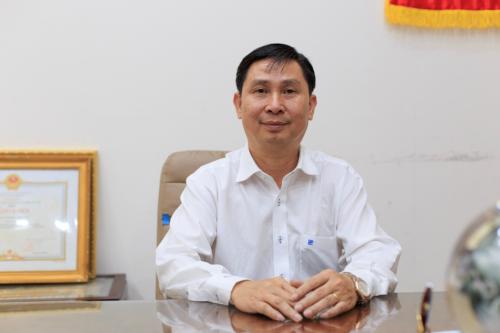 Ông Mai Trí Hiếu Chủ tịch, Tổng Giám đốc Công ty Cổ phần Thép TVP.