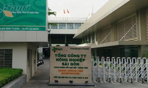 Trụ sở Tổng công ty Nông nghiệp Sài Gòn. Ảnh: Sagri.