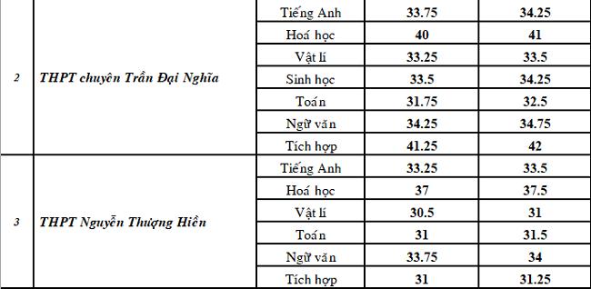 Điểm chuẩn chuyên Toán ở TP HCM giảm mạnh - 1