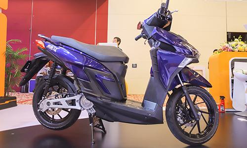 Xe máy điện mbigo MBI X tại Vietnam Auto Expo 2019.