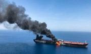 Hai tàu chở dầu bị tấn công ở Vịnh Oman