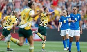 Australia 3-2 Brazil