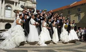 16 cặp đôi Bồ Đào Nha được tổ chức đám cưới miễn phí