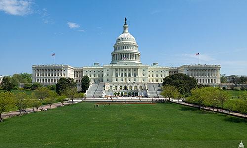 Trụ sở Quốc hội Mỹ. Ảnh: AOC.
