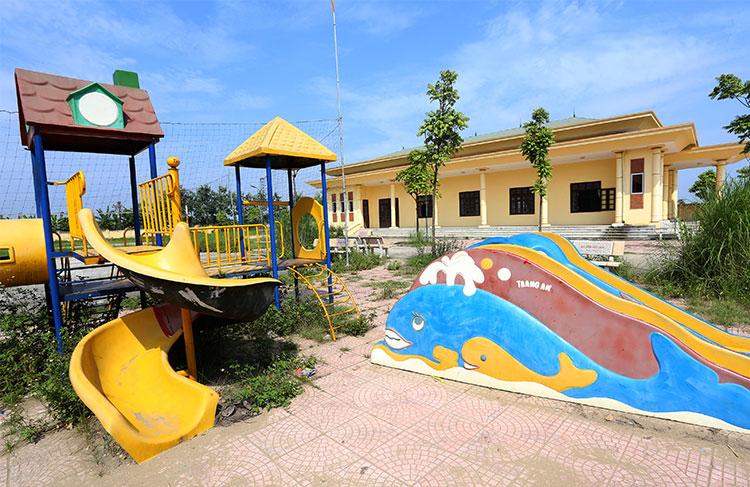 Dự án xây dựngTrung tâm Văn hoá, làng văn hoá trọng điểm Bàn Mạch đã đi vào hoạt động nằm trong diện bị thanh tra. Ảnh: Bá Đô