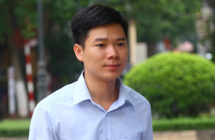 Hoàng Công Lương không được VKS chấp nhận đơn xin hưởng án treo. Ảnh: Phạm Dự.