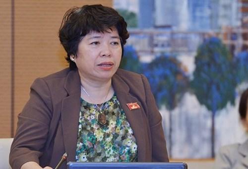 Chủ nhiệm Uỷ ban về các vấn đề xã hội Nguyễn Thuý Anh. Ảnh: Trung tâm báo chí Quốc hội