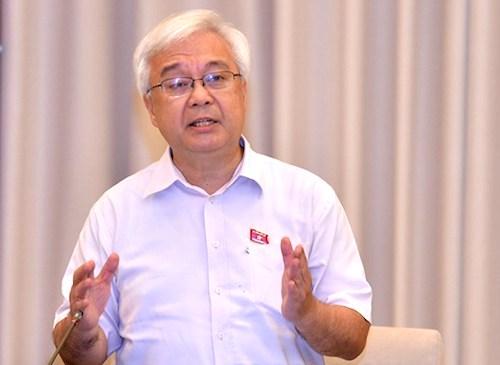 Chủ nhiệm Uỷ ban Văn hoá Giáo dục Phan Thanh Bình. Ảnh: Trung tâm báo chí Quốc hội