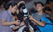 Gần 200 người yêu vũ trụ trải nghiệm quan sát Sao Mộc