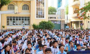 Điểm khảo sát vào lớp 6 trường chuyên Trần Đại Nghĩa