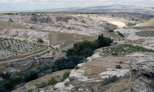 Tỉnh Nevşehir ở khu vực Nevşehir. Ảnh: Ancient Origins.