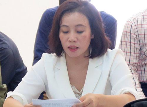 Bị cáo Lê tại phiên tòa sơ thẩm.