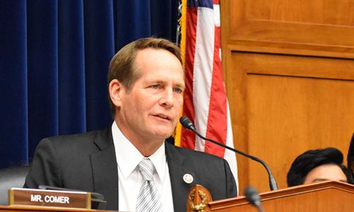 Dân biểu đảng Dân chủ Harley Rouda phát biểu tại một cuộc họp ở Hạ viện Mỹ. Ảnh: Rouda.house.gov