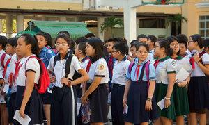 48 - điểm chuẩn vào lớp 6 trường THPT chuyên Trần Đại Nghĩa