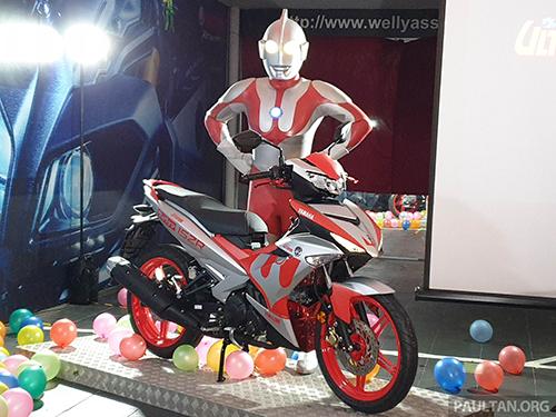 Yamaha Y15ZR Ultraman Limited ra mắt tại Malaysia, giới hạn 100 xe.