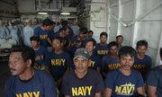 Tàu cá ở Tiền Giang cứu 22 người Philippines