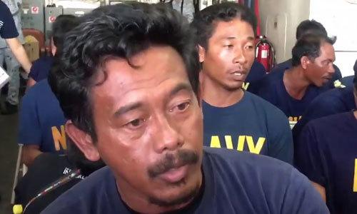 Thuyền trưởng tàu Philippines bị đâm chìm ở Biển Đông từ chối gặp Duterte
