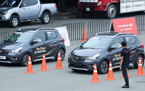 Hàng nghìn khách hàng đã đăng ký tham dự các chương trình lái thử xe Fadil.