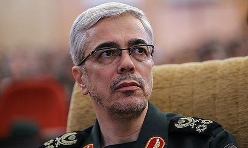 Tướng Baqeri trong một cuộc họp năm 2018. Ảnh: Fars News.