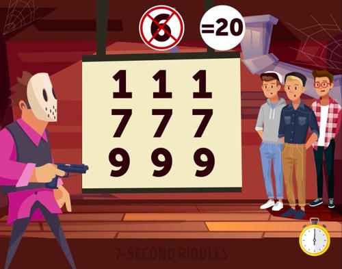 Thử tài giải 4 câu đố suy luận - 2