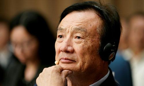 Nhậm Chính Phi, người sáng lập tập đoàn Huawei của Trung Quốc. Ảnh: Reuters.