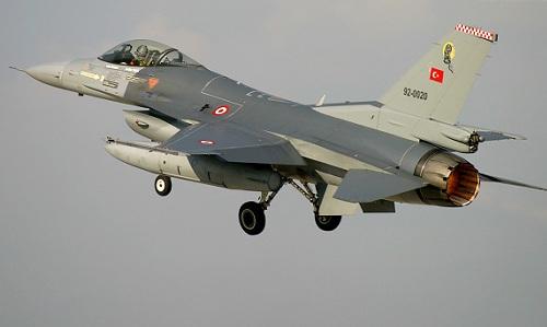 Một chiếc tiêm kích F-16 của Thổ Nhĩ Kỳ. Ảnh: Aviationist