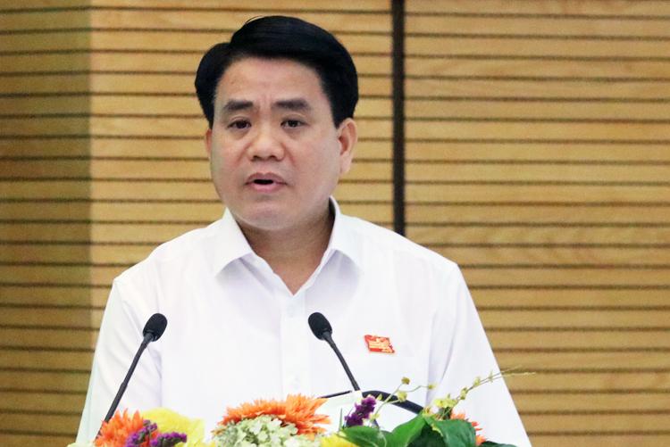 """Ông Nguyễn Đức Chung: """"Để giữ kỷ cương thì cả tòa nhà Lê Trực cũng phải đập"""""""