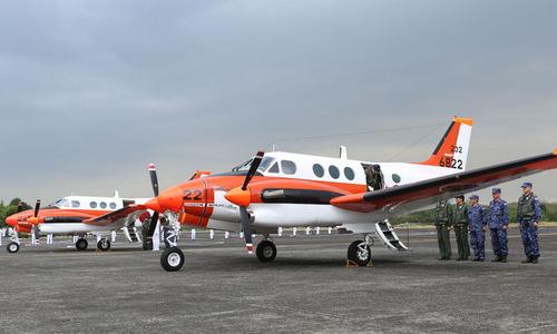 Những chiếc TC-90 trong lễ bàn giao cho Philippines. Ảnh: PH Navy.