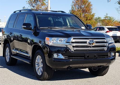 Toyota Land Cruiser thế hệ hiện hành.