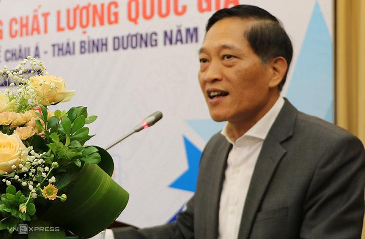 Thứ trưởng Trần Văn Tùng phát biểu tại sự kiện. Ảnh: Hán Hiển.