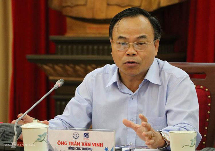 Ông Trần Văn Vinh nói về các tiêu chí giải thưởng. Ảnh: Hán Hiển.