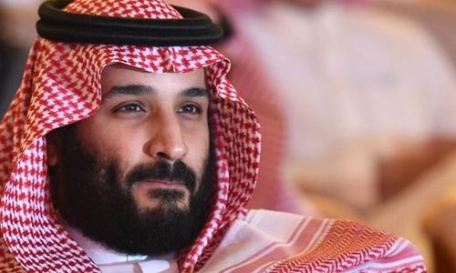 Thái tử Arab Saudi Mohammed bin Salman tại một hội nghị về đầu tư ở Riyadh tháng 11/2017. Ảnh:AFP.