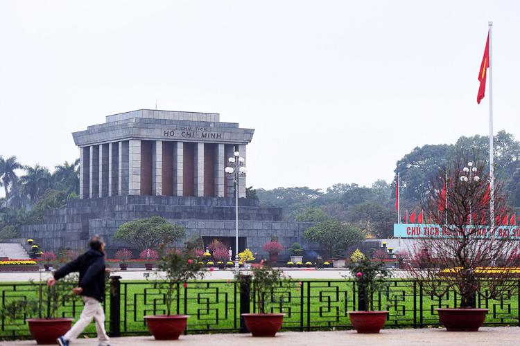 Lăng Chủ tịch Hồ Chí Minh. Ảnh: Giang Huy.