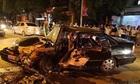 Hai ôtô đấu đầu, bốn người bị thương