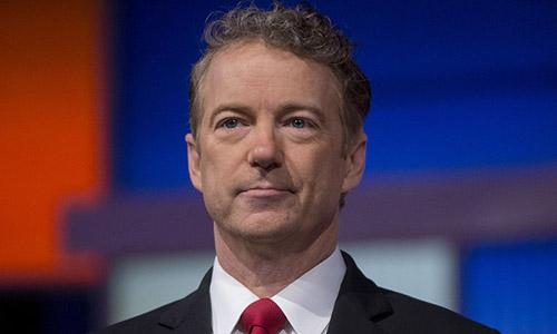 Thượng nghị sĩ đảngCộng hòa Rand Paul, đại diện bang Kentucky, Mỹ. Ảnh: Bloomberg.