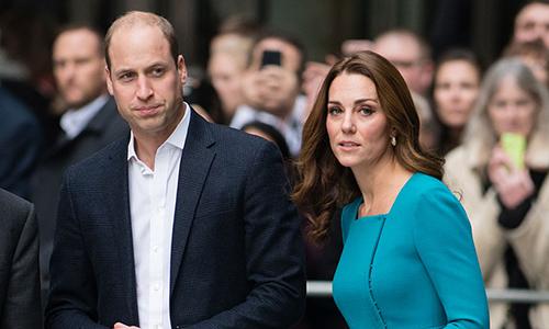 Hoàng tử William và Công nương Kate. Ảnh: Hello Magazine