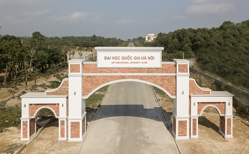 Đại học Quốc gia Hà Nội cơ sở Hòa Lạc. Ảnh: VNU
