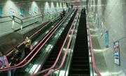 Ga tàu điện ngầm sâu 95 m ở Trung Quốc