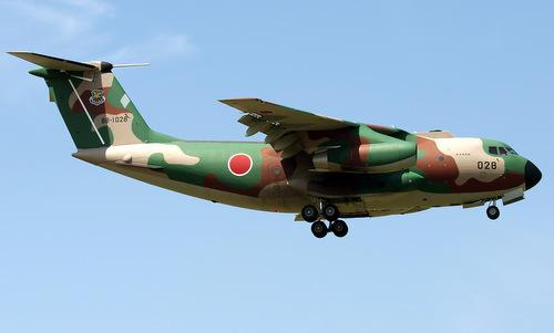 Vận tải cơ C-1 trong biên chế Nhật Bản. Ảnh: Airliners.