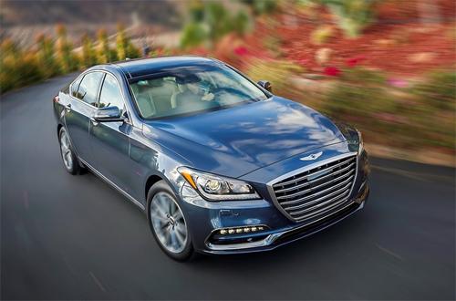 Genesis - thương hiệu hạng sang của Hyundai - chiếm ngôi quán quân.