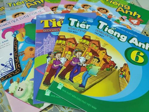 Sách do Nhà xuất bản Giáo dục Việt Nam phát hành. Ảnh: Hiền Thương