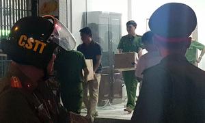 Cảnh sát khám xét nhà người gọi giang hồ vây ôtô chở Công an Đồng Nai