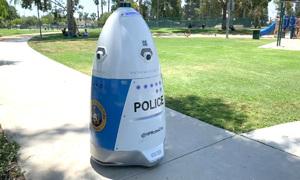 Robot tuần tra tự động của cảnh sát Mỹ