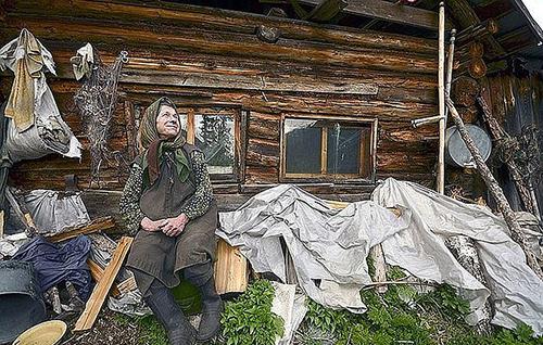 Bà Agafya LykovaẢnh: Siberian Times