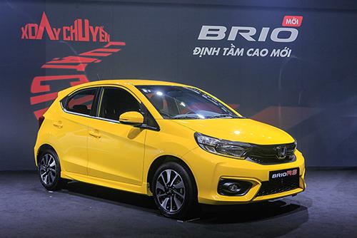 Honda Brio ra mắt tại Hà Nội hôm 18/6.