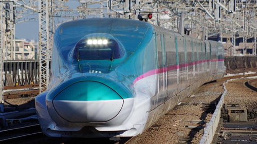Một chuyến tàu ở Nhật Bản. Ảnh: BBC