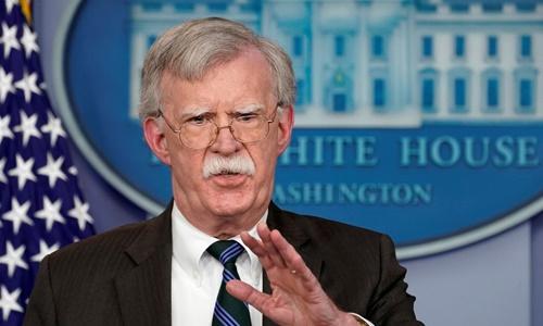 Cố vấn An ninh Quốc gia Nhà Trắng John Bolton. Ảnh: Reuters.
